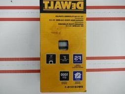 DEWALT 1/2 in Glue Collated Flooring Staples 1000 Pack Crown