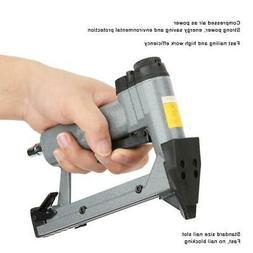 1/4inch Pneumatic Nailer Stapler Staple Nail Gun Air Tool fo