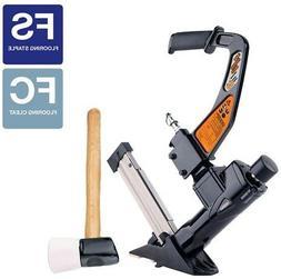 Freeman 3-in-1 Flooring Nailer Stapler Hardwood 16 Gauge Bos