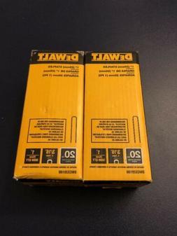 1 in. x 20-Gauge 3/16 in. Crown Glue Collated Hardwood Floor