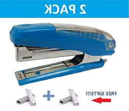 2 Pack of 3 in 1 Stapler with Integrated Remover & Staple St
