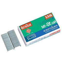 1 X Flat Clinch Staples Mini Box of 1000 by MAX No.10 Office