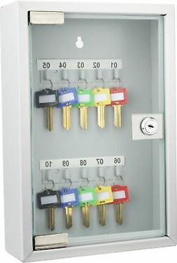 Barska 10 Position Key Cabinet with Glass Door CB12986