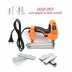 18 Gauge 2 In 1 Electric Brad Nailer And Stapler Gun With 30