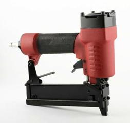 "18ga Air Staple Gun Nailer 5/8"" to 1-4/7"" Cap Air Compressor"