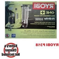 Ryobi 18V AirStrike 23-Gauge Cordless Pin Nailer Nail Gun Pn