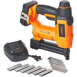 18V Lithium-Ion Cordless Gauge Brad Nailer And Stapler Kit I