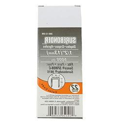 Surebonder 300-12-5M  1/2-Inch 22 Gauge Upholstery Staples,