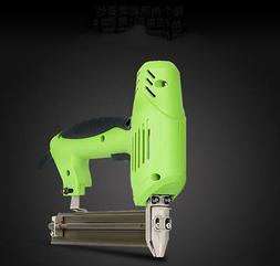 220V Electric Nails Staple Gun Framing Tacker Straight/U Typ