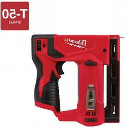 """MILWAUKEE 2447-20 M12™ 12V 3/8"""" Cordless Crown Stapler"""
