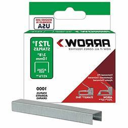 Arrow Fastener 276 Genuine JT21/T27 3/8-Inch Staples, 1,000-