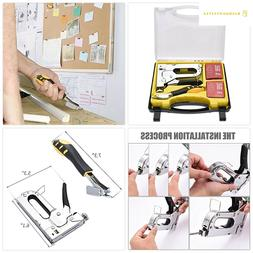WOLFWILL 3 in 1 Heavy-Duty Staple Gun Kit with Remover Brad
