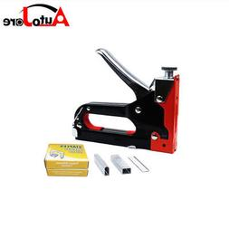 3 in 1 Stapler Tacker DIY Decoration Nail Gun With 900 Stapl