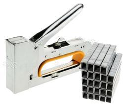 4/6/8mm Steel Staple Gun Tacker Upholstery Stapler With 2500