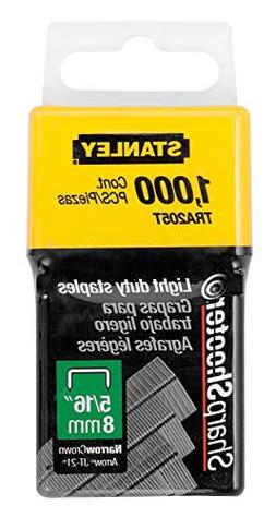Stanley Consumer Tools #TRA205T 1000PK 5/16 Staples