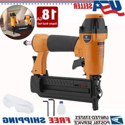 5/8 to 2In1 18 Gauge Brad Nailer Air stapler Nail Gun US sel