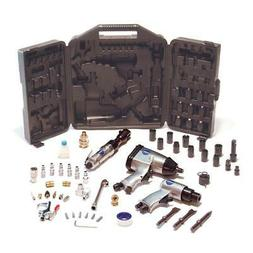 Air Compressor 50-Piece Tools Kit With Storage Case Car Tire