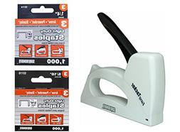 """Surebonder 5525 Plastic Light Duty 1/4"""" - 3/8"""" Stapler B"""