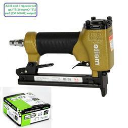 meite 8016B 21GA Air Upholstery Stapler Power Staplers Uphol
