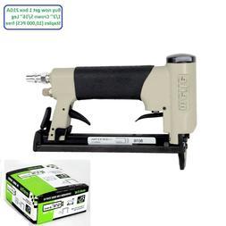 meite 8016F 21GA Pneumatic Upholstery Stapler Air power Stap