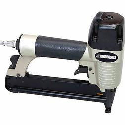 "Surebonder 9630 Pneumatic 18-Gauge 1/4"" Crown Staple Gun wit"