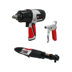 EXELAIR 3 Piece Professional Air Tool Kit
