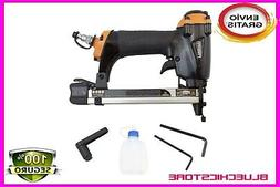 Air Pneumatic Stapler Upholstery Staple Gun Professional Fin