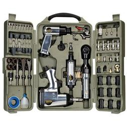 Professional 71 Pcs Air Tools Set Accessories Kit Automotive