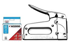 Arrow Fastener T50 Heavy Duty Stapler plus 1250  Staples Bun