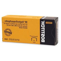 Bostitch B8 PowerCrown 0.25 Inch Staples, Pack of 5,000 Stap