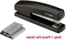 Black Desktop Office Stapler New Standard Commercial Paper S