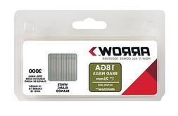 Arrow Fastener BN1816WCS 1-Inch White Brad Nails, 18-Gauge -