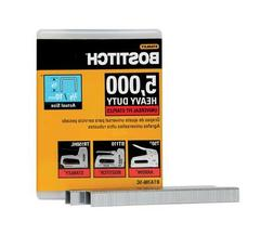 BOSTITCH BTA706-5C Heavy Duty Construction Staples, 3/8 x 2/
