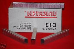 """Unicatch C13 1/2""""Galv. Upholstery Staples fits Senco,Bostitc"""