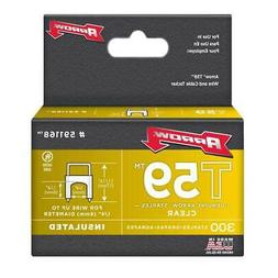 "Arrow Fastener Co. 591168 1/4"" X 1/4"" Clear T59 Staples"