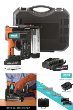 Cordless Nail and Staple Gun Combo 18V Rechargeable Batterie
