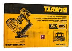 DeWalt DCN682M1 20v XR CORDLESS Battery Power 18 Gauge Floor