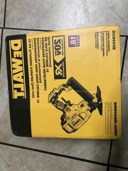 DEWALT DCN682M1 20V MAX XR 18 Gauge Flooring Stapler Kit NEW