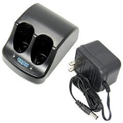 HQRP Dual Battery Charger for Black & Decker 3.6V Versapak V