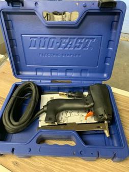 Duo-Fast ENC-5418B Corded Electric Carpet Stapler Staple Gun