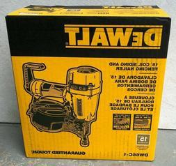 DEWALT DW66C-1 15 Degree Coil Siding And Fencing Nailer - *N