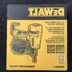 Dewalt DW66C-1 15 Degree 2-1/2 in. Coil Siding Nailer