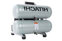 Hitachi EC99S Portable 4 Gallon Twin Stack Air Compressor