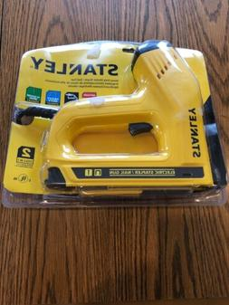 Stanley Electric Staple Nail Brad gun stapler power hand too
