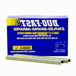 Duo Fast 5008C 20 Gauge Galvanized Staple 1/2-Inch Crown x 1