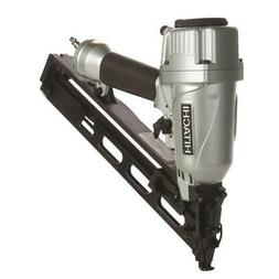 Hitachi Finishing Pneumatic Nailer 15-Gauge Roundhead Integr