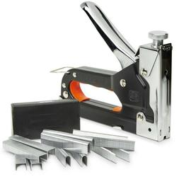 Heavy Duty Powerful Manual Staple & Nail Gun For Fabric Wood