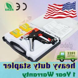 Manual Staple Gun Professional Woodworking Power Tools + 900