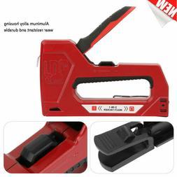 Heavy Duty Staple Gun Tacker Upholstery Stapler Woodworking