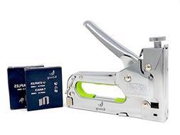 Könnig Heavy Duty Upholstery Staple Gun 3 in 1 with Staples